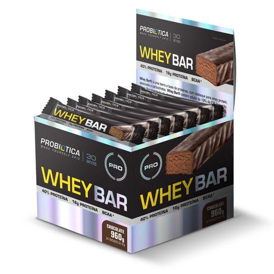 Whey Bar Probiotica Cookies 40g