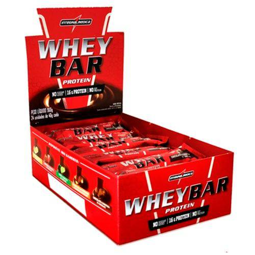 Whey Bar Protein (display C/ 24 Und) - Integralmédica