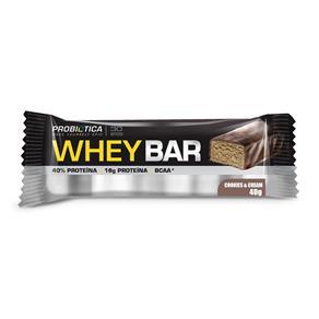 Whey Bar Sabor Cookies & Cream Probiótica - 40g
