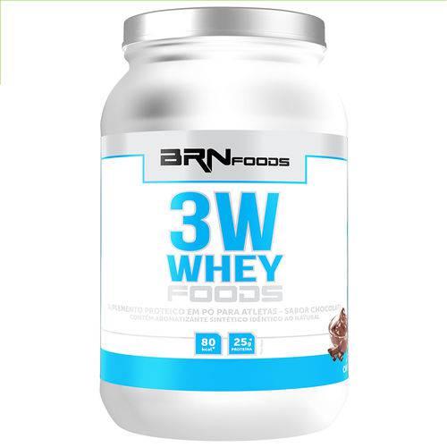 Whey Foods 3W 900g Chocolate- BRN Foods