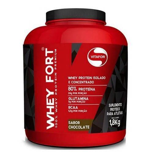 Tudo sobre 'Whey Fort Vitafor 1.8kg'
