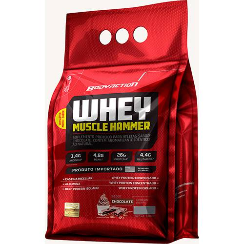 Tudo sobre 'Whey Muscle Hammer Chocolate 1,8kg'