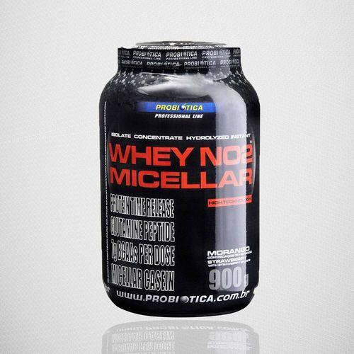 Tudo sobre 'Whey no Micellar (900g) - Probiótica - Morango'