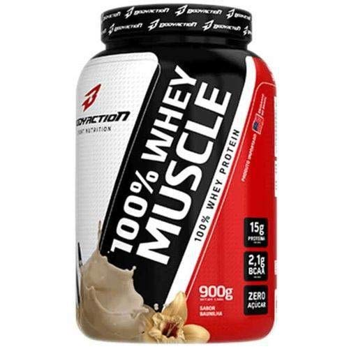 Whey Protein 100% Muscle (900g) - Bodyaction
