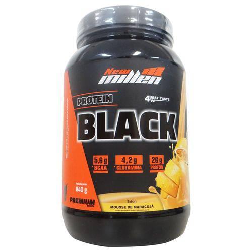 Whey Protein 4w Black Premium New Millen Sabor Maracujá - 840gr