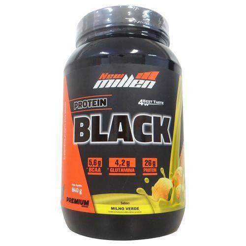 Whey Protein 4w Black Premium New Millen Sabor Milho Verde - 840gr