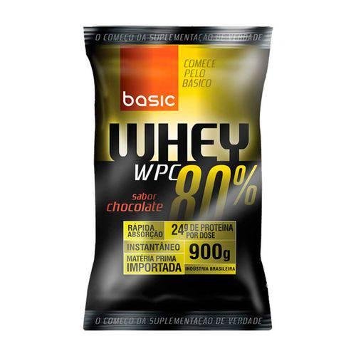 Whey Protein 80% 900g - Basic Nutrition