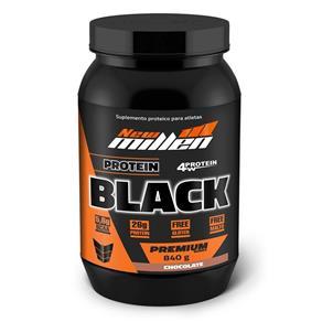 Whey Protein Black - New Millen - 840G - 840g - Chocolate