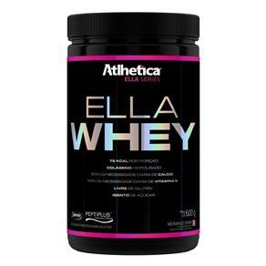 Whey Protein Concentrado Ella Whey - Atlhetica - 600g- Morango