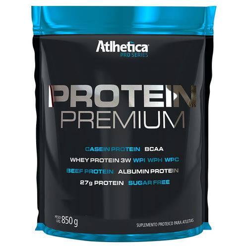 Tudo sobre 'Whey Protein Premium 850g Pro Series Atlhetica Morango'