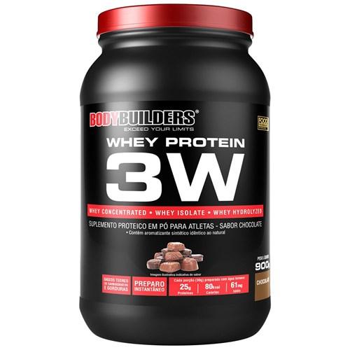 Whey Protein 3w 900g - Bodybuilders - Chocolate