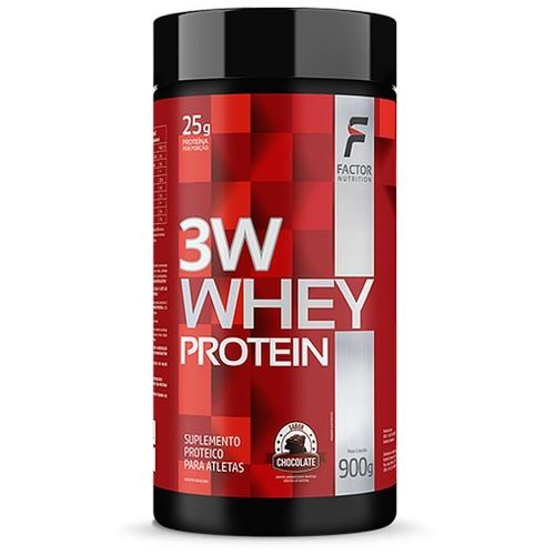 Whey Protein 3w 900g - Factor Nutrition