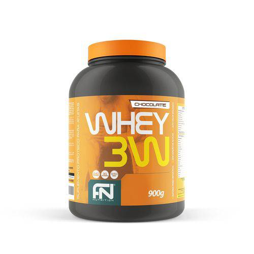 WHEY 3W - POTE 900g FORCE NUTRITION