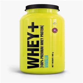 Whey+ Whey Protein - 4+ Nutrition - 900g - Baunilha