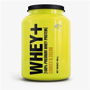 Whey+ Whey Protein - 4+ Nutrition - 900g - Cookies