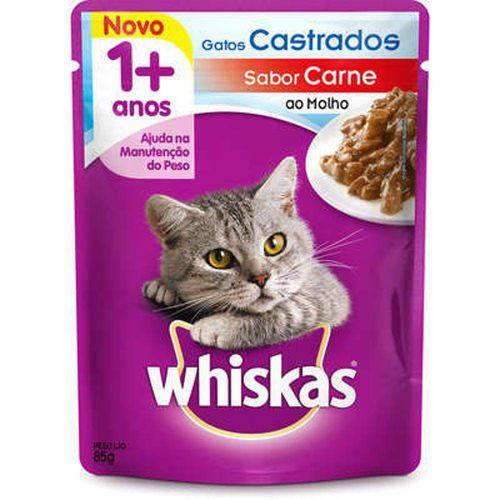 Tudo sobre 'Whiskas Sachê Adulto Castrado 85g'