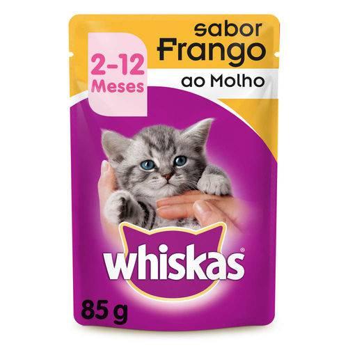Tudo sobre 'Whiskas Sachê Filhote Frango - 85g'