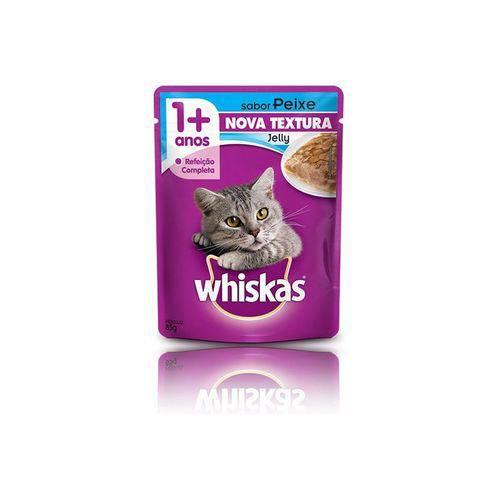 Tudo sobre 'Whiskas Sache Jelly Peixe 85g'