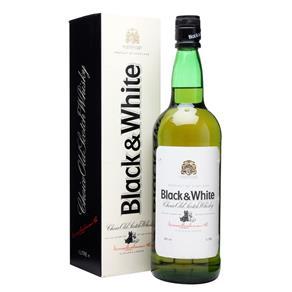 Whisky Black e White 1L