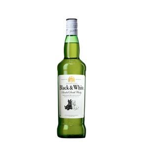 Whisky Black & White 1000ml