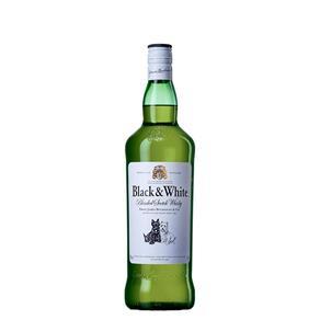 Whisky Black & White - 1L