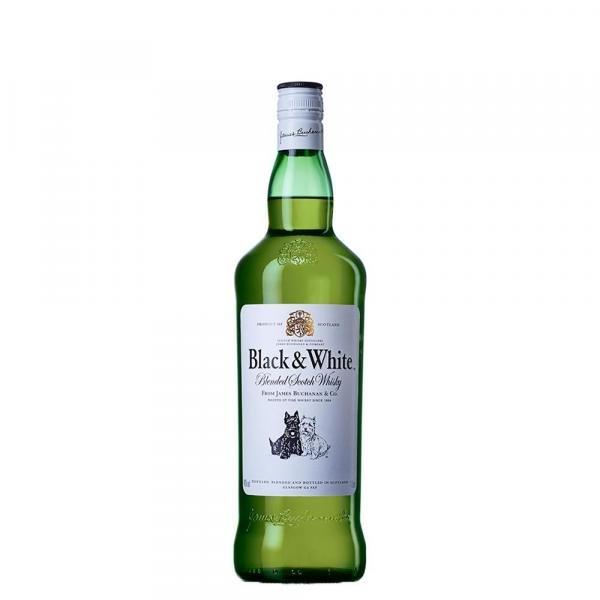Whisky Black White - 1L
