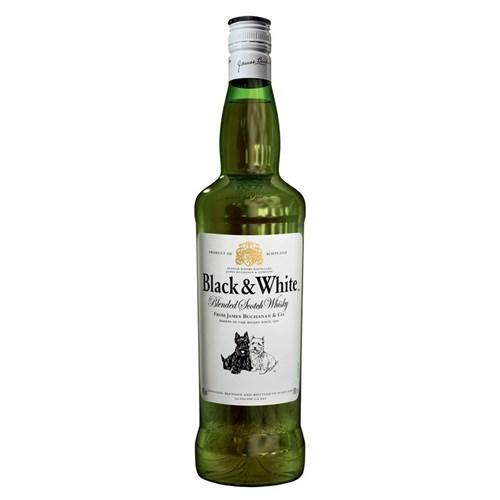 Whisky Black & White 750 Ml