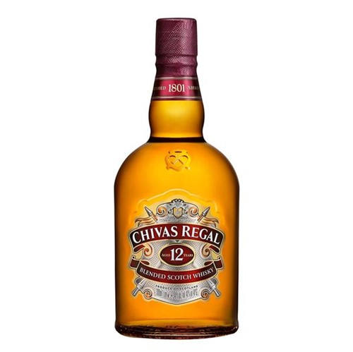 Whisky Chivas Real 1l 12 Anos