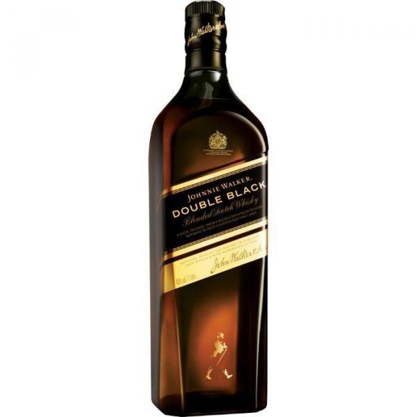 Whisky Escocês Johnnie Walker Double Black Garrafa - 1 Litro
