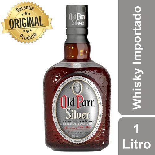 Whisky Escocês Silver Garrafa 1 Litro - Old Parr
