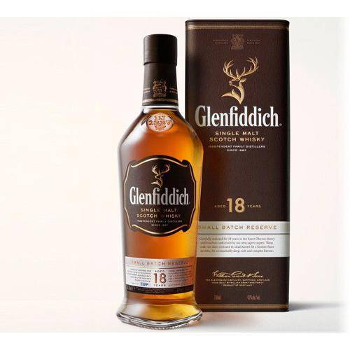 Tudo sobre 'Whisky Glenfiddich 18 Anos 750 Ml'