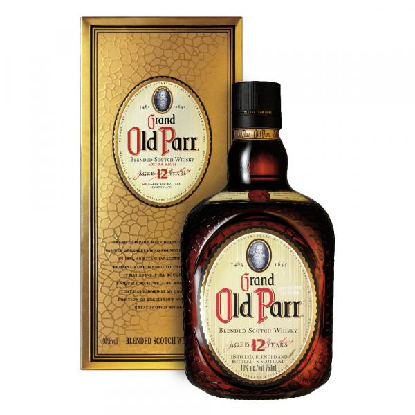 WHISKY Grand OLD PARR 12 Anos 750ml