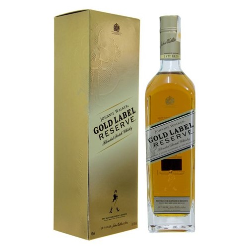 Whisky Johnnie Walker 750ml Gold Reserve