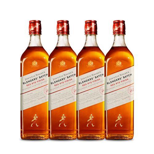 Whisky Johnnie Walker Blenders Batch Red Rye Finish 4x 750ml