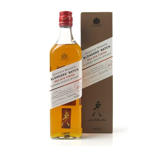 Tudo sobre 'Whisky Johnnie Walker Blenders Batch Red Rye Finish 750ml'