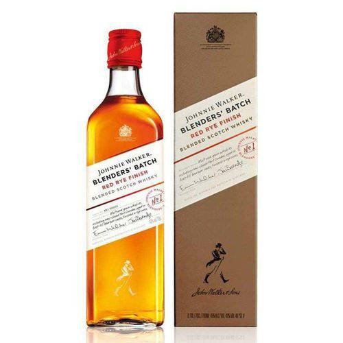 Whisky Johnnie Walker Red Rye Finish Blenders Batch 750ml
