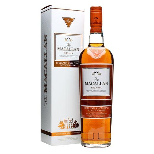 Tudo sobre 'Whisky Macallan Sienna 700ml'