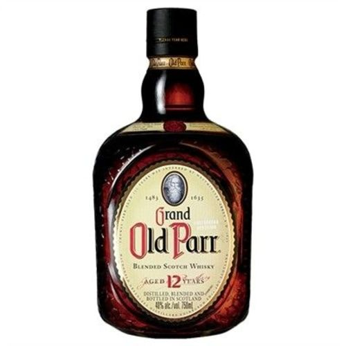 Whisky Old Parr 12a 750 Ml