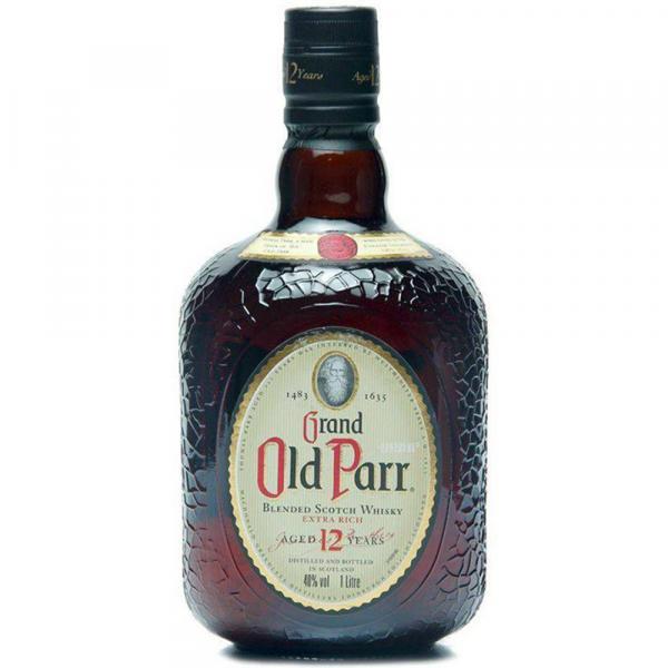 Kit com 1 Whisky Old Parr 12a 750ml-gf