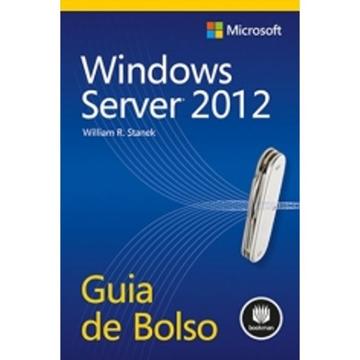 Tudo sobre 'Windows Server 2012 - Bookman'