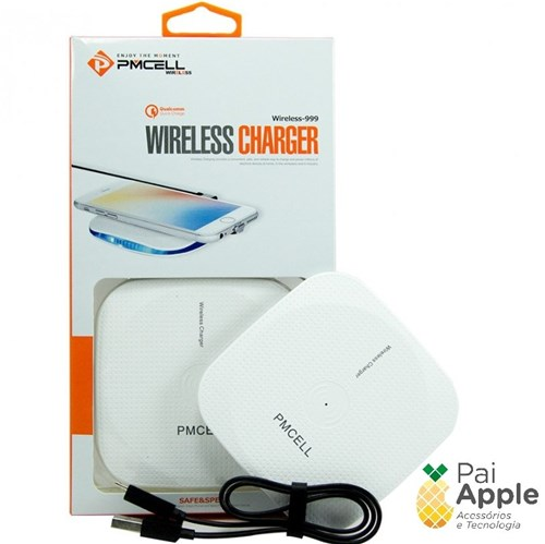 Wireless Charger Wr-11 Pmcell Carregador Qi Sem Fio