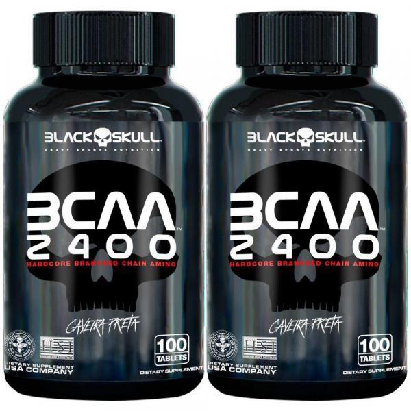 2x Bcaa 100caps - Black Skull
