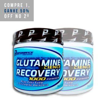 2x Glutamine Recovery 300g - Performance