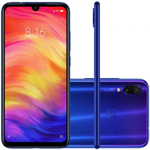 Smartphone Xiaomi Note 7 64gb Global Novo Xiaomi - Azul