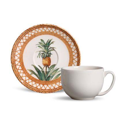 Tudo sobre 'Xícara de Chá Coup Pineapple Natural- 06 Unidades'