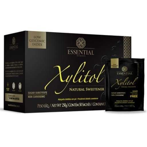Xylitol 50 Sachês Essential Nutrition