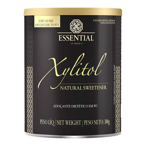 Xylitol Adoçante Natural (300g) - Essential Nutrition