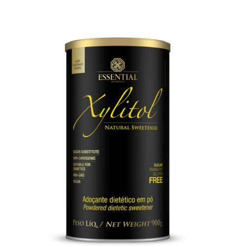 Xylitol Adoçante Natural 900g Essential Nutrition