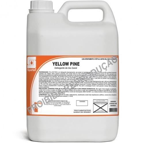 Yellow Pine Detergente Desengraxante 5 Litros Spartan