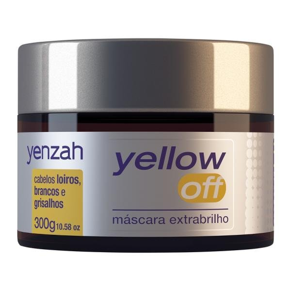 Yenzah Yellow Off Máscara Extrabrilho 300g